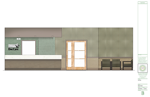 medical office design - Rendering: Waiting Room