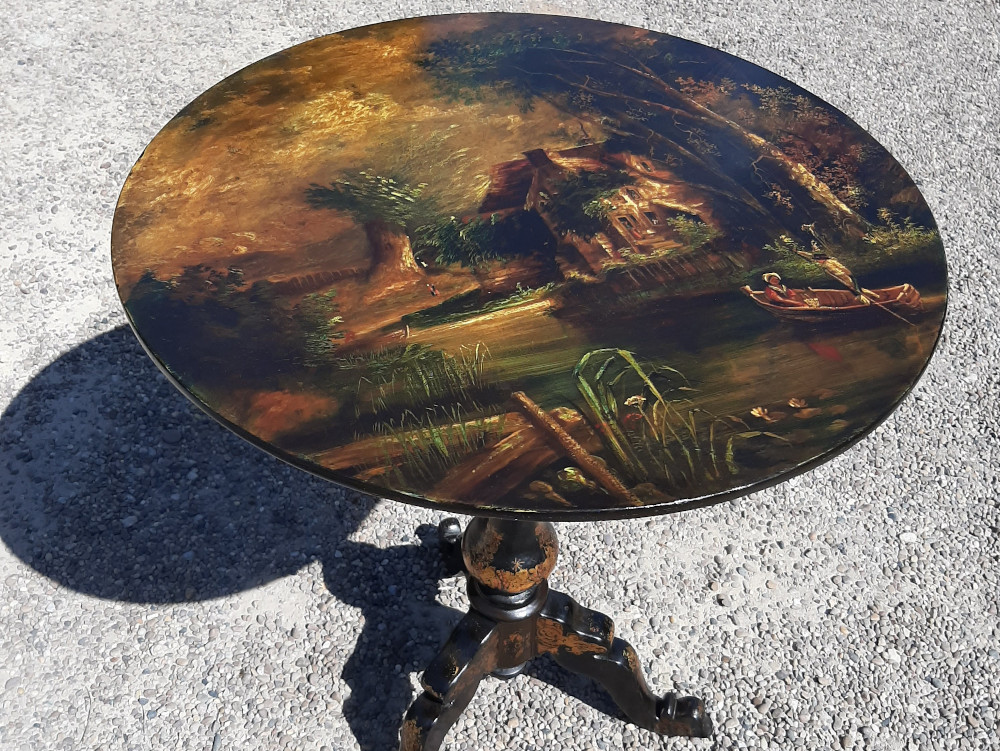 Painted Tilt Top Table 4.jpg
