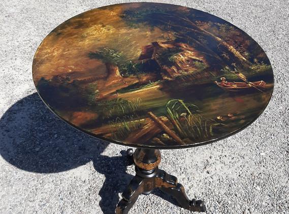 Painted Tilt Top Table 4.jpg