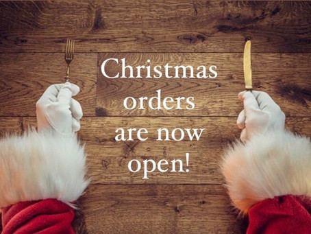 Christmas orders are now open!