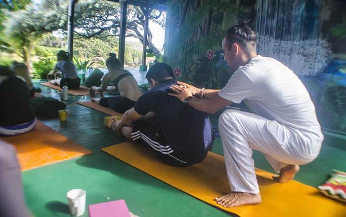 GoNatural_yoga class support