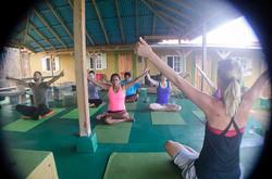 yoga retreat, Go Natural Jamaica, me