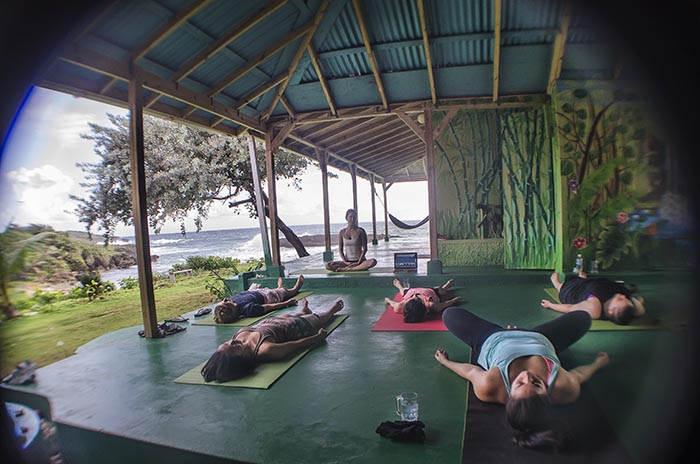 yoga retreat, Go Natural Jamaica