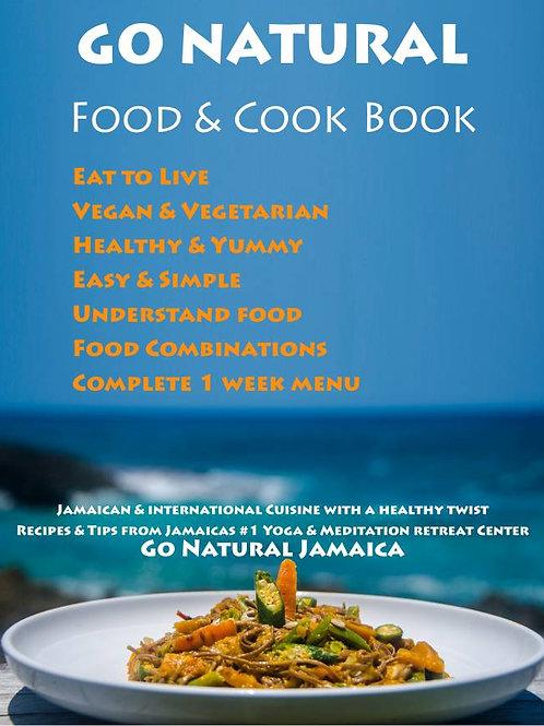 GO NATURAL  COOK & FOOD BOOK