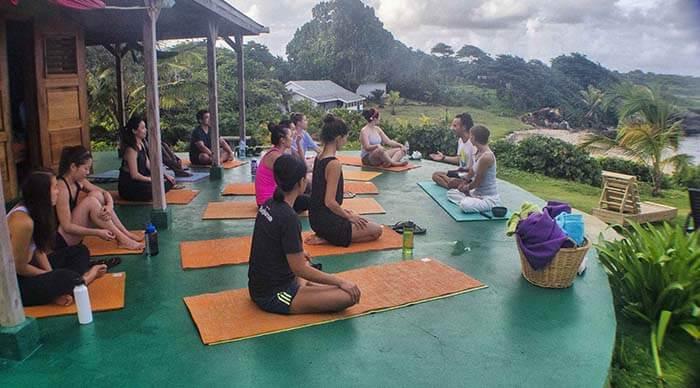 GoNatural_yoga class wiev