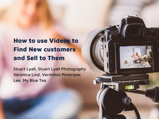 How to use videos to find new customers and sell to them