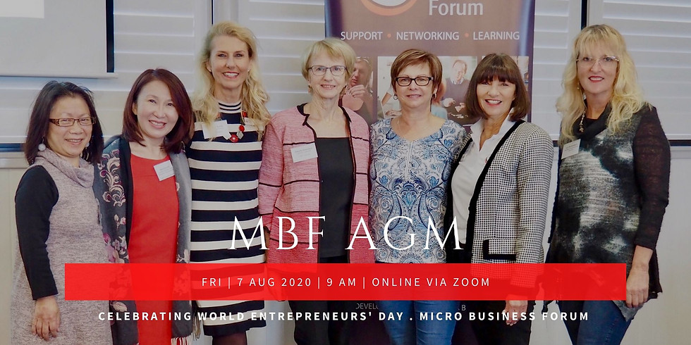 MBF Annual General Meeting: World Entrepreneurs' Day