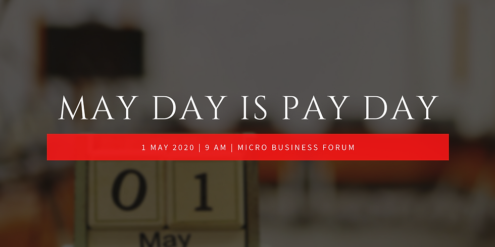 May Day is Pay Day (FREE online Q&A)