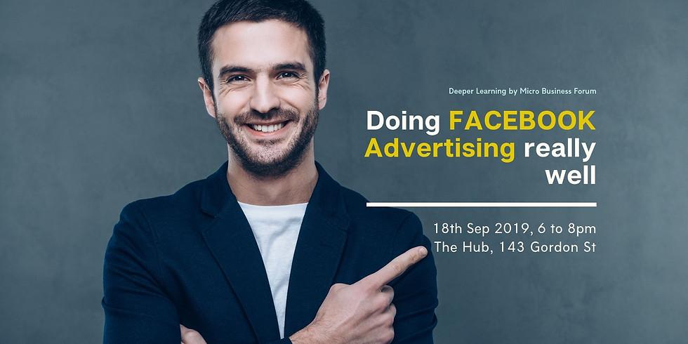 Do Facebook Advertising Well