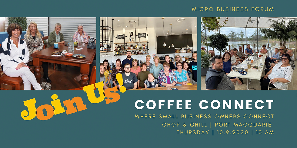 MBF Coffee Connect: Where Small Businesses Meet