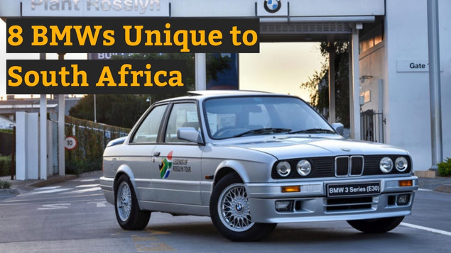 8 BMWs unique to South Africa