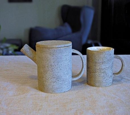 Teapot 2 with mug