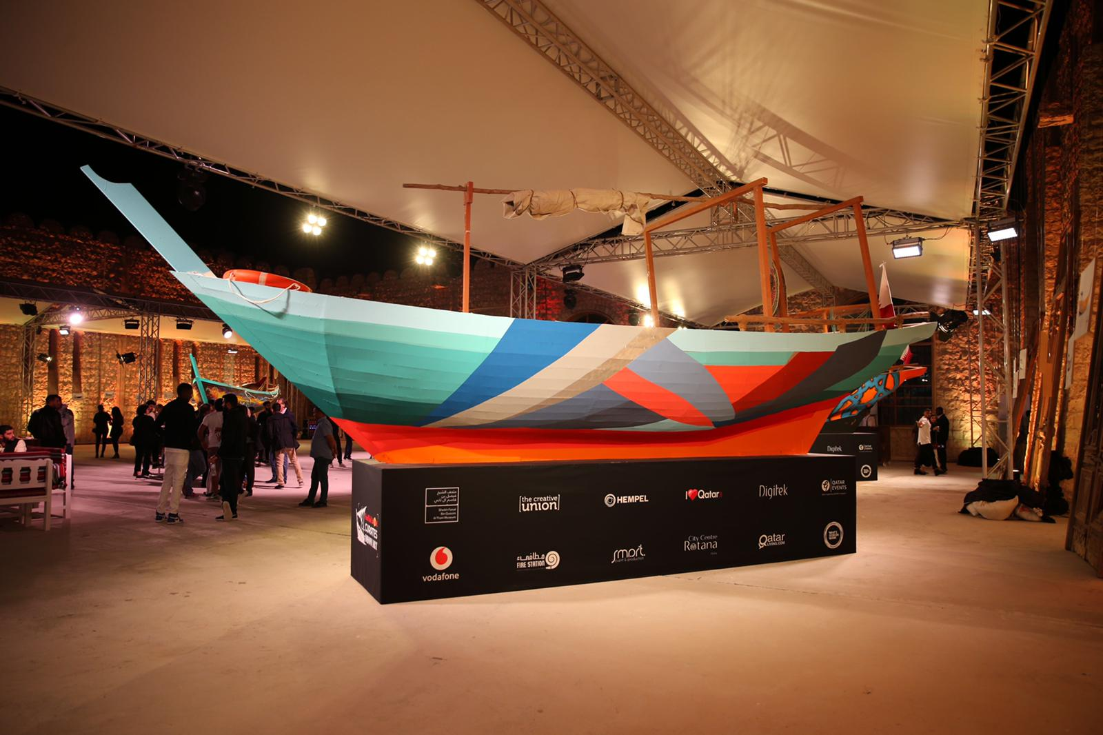 Red Bull Curates Dhow Art
