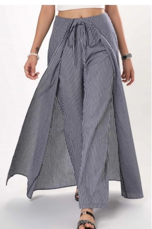 Strip Trouser Skirt