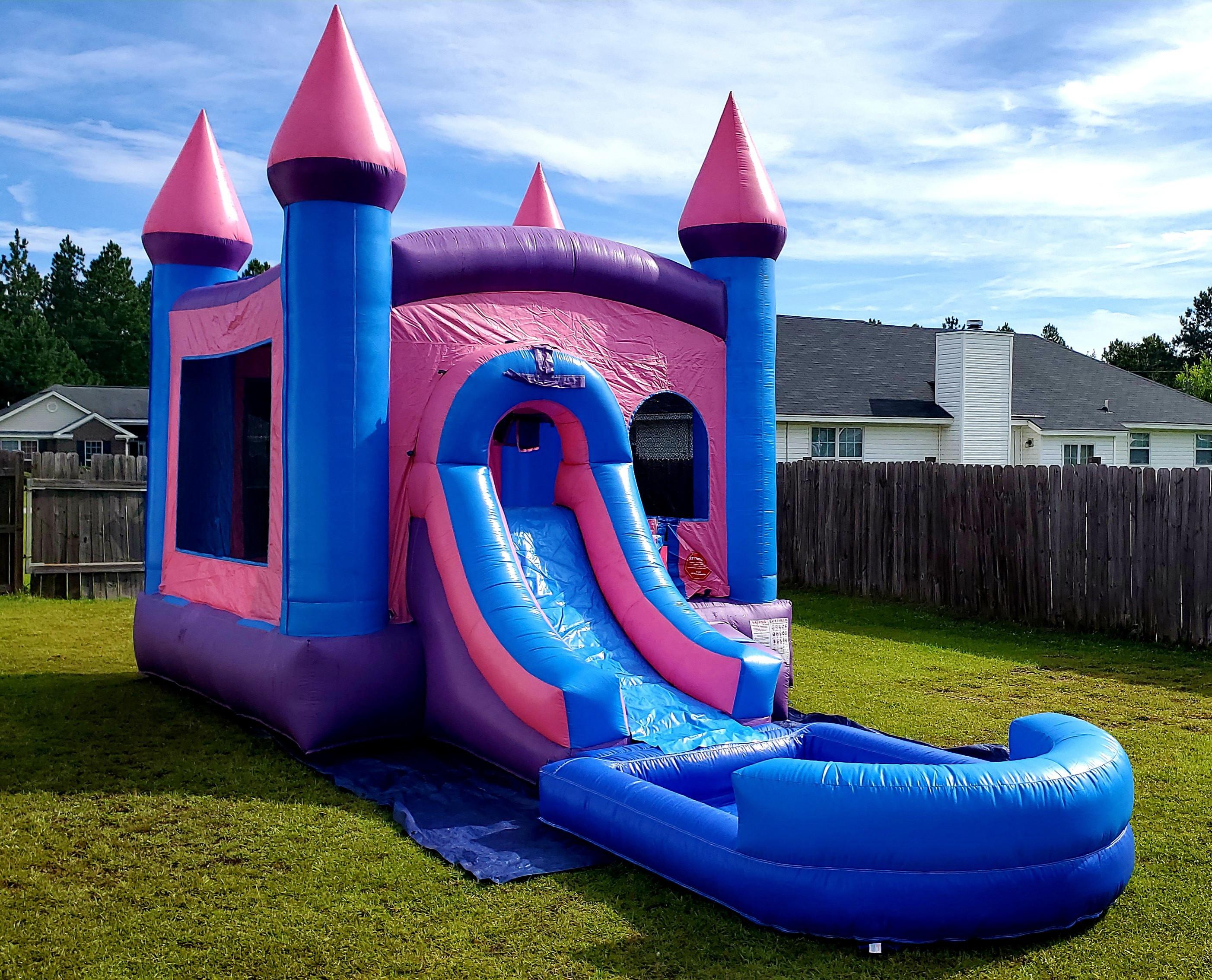 Princess Castle Bounce & Splash