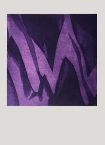 Untitled (purple zig)