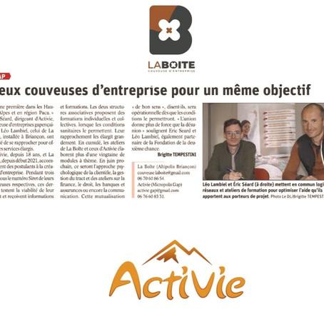 Deux Couveuses d'Entreprises en collaboration sur les Hautes-Alpes.
