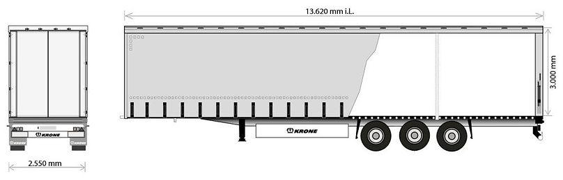 MEGA trailer transportation