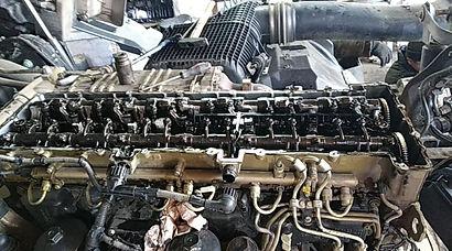 ремонт двигателя Mersedes-Benz Actros MP4 Euro 6