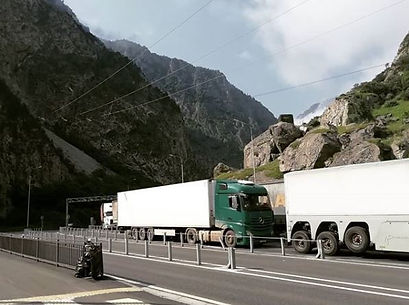 Refrigerated transportation from Europe to Georgia