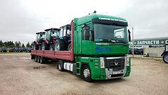 transportation MEGA trailer, MEGA trucking