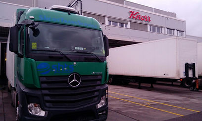 Refrigerated transportation from Germany to Russia
