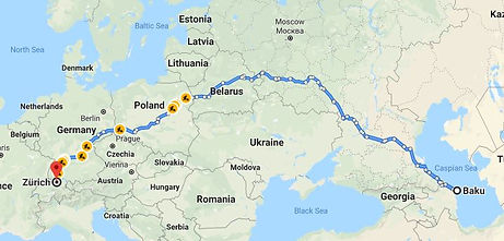 Refrigerated transportation from Europe to Russia and CIS countries