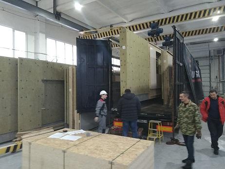Cargo transportatiom MEGA trailer from BY Belarus RUS Russia to ES Spain