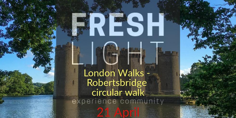 London Walks (Intermediate level) - Robertsbridge circular (FREE)
