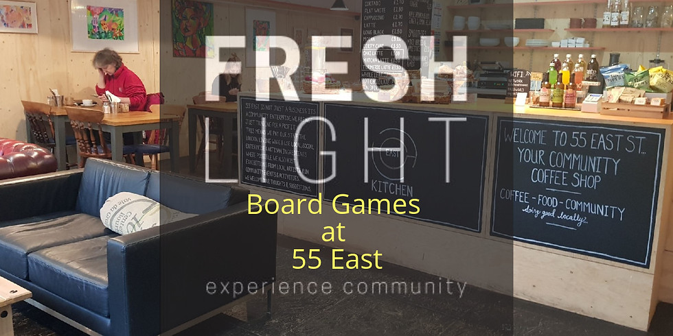 Board Games at 55 East (FREE)