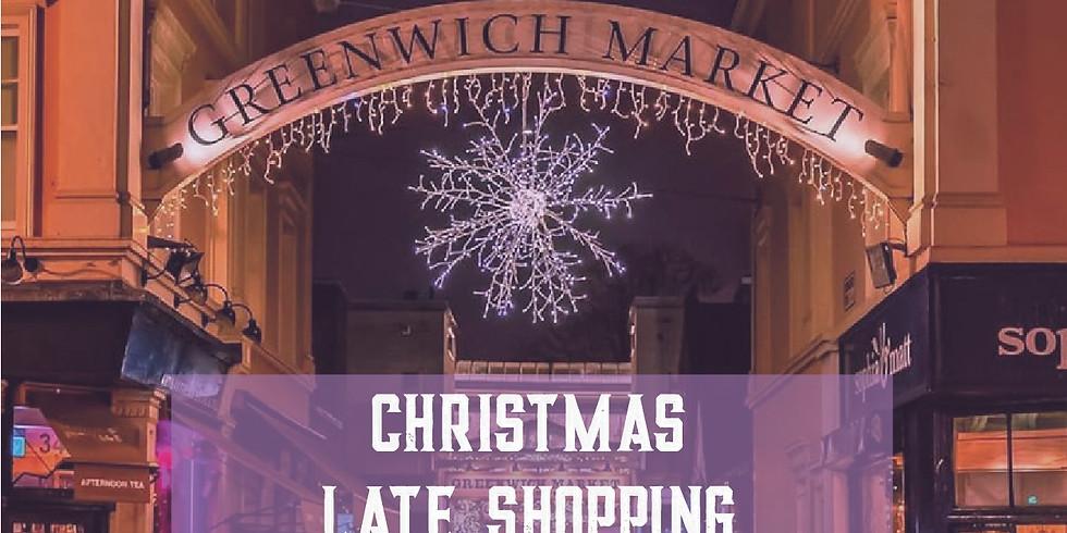 Greenwich Market - Christmas Late Shopping!