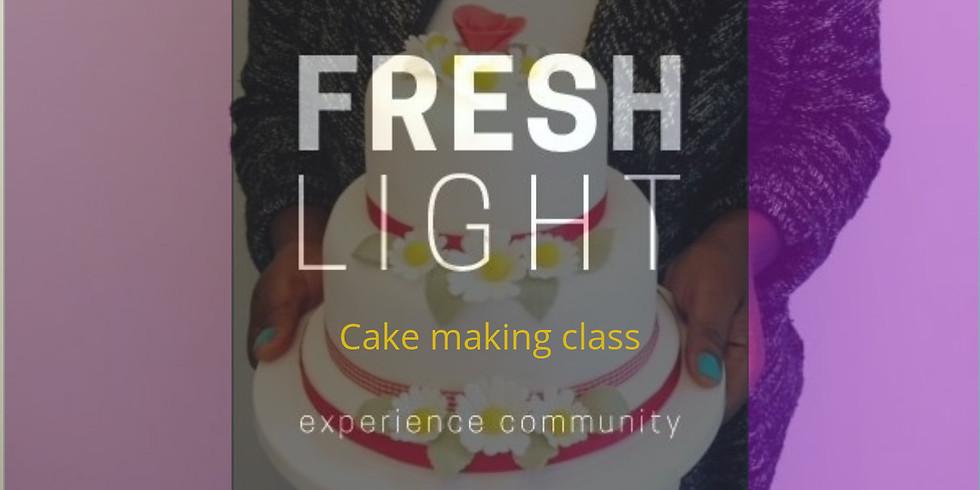 Cake making class
