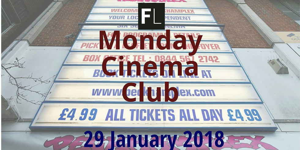 Monday Cinema for just £4.99