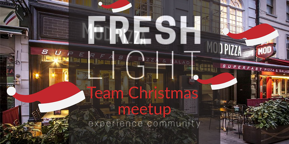 Team Christmas Pizza meetup