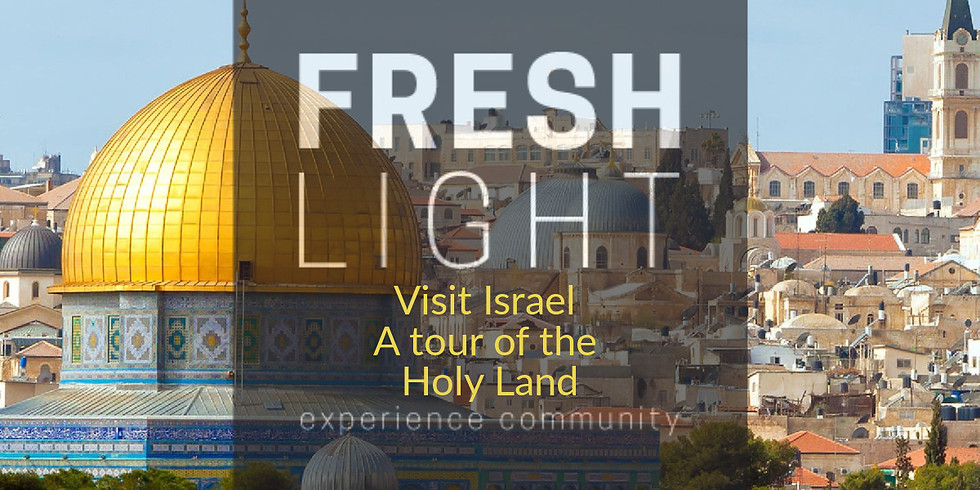 Visit Israel - A tour of the Holy Land!