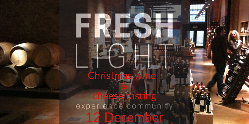 Christmas wine and cheese tasting (1)