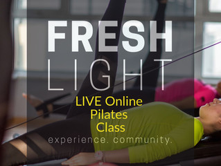 LIVE Online Pilates Class with Fionnuala