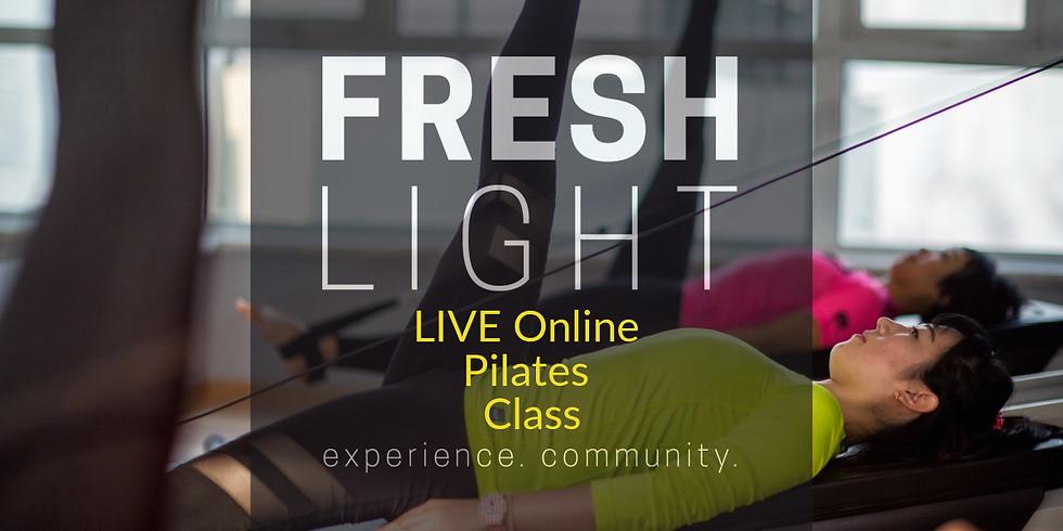 LIVE Online Pilates Class