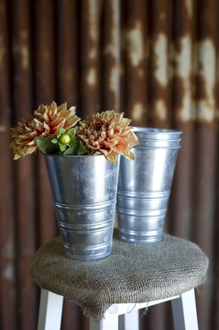 Vase Stainless Steel Pots $4.40