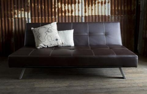 Lounge Jim Futon 3 seater Chocolate $77