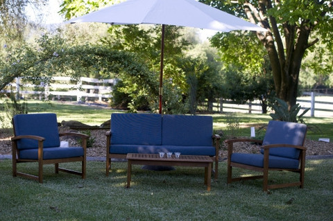 Lounge Setting timber grey $330