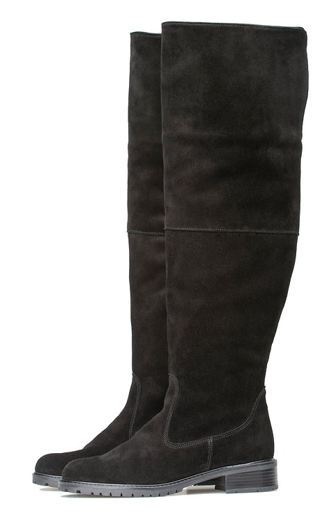 Palmroth Ivy   Suede Long Boot
