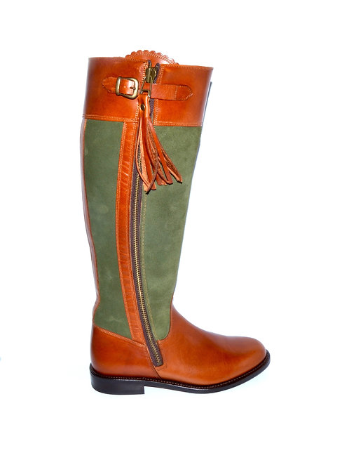 Palanco Riding Boot  | Suede/ Leather
