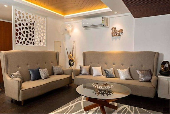 Sample Flat - Interior Design And Decoration