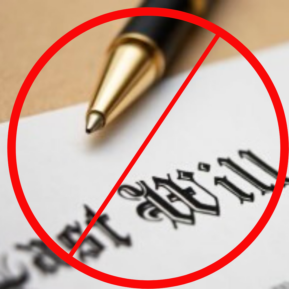 will and testament invalid false security trust and estates HUB Law Group Hingham MA