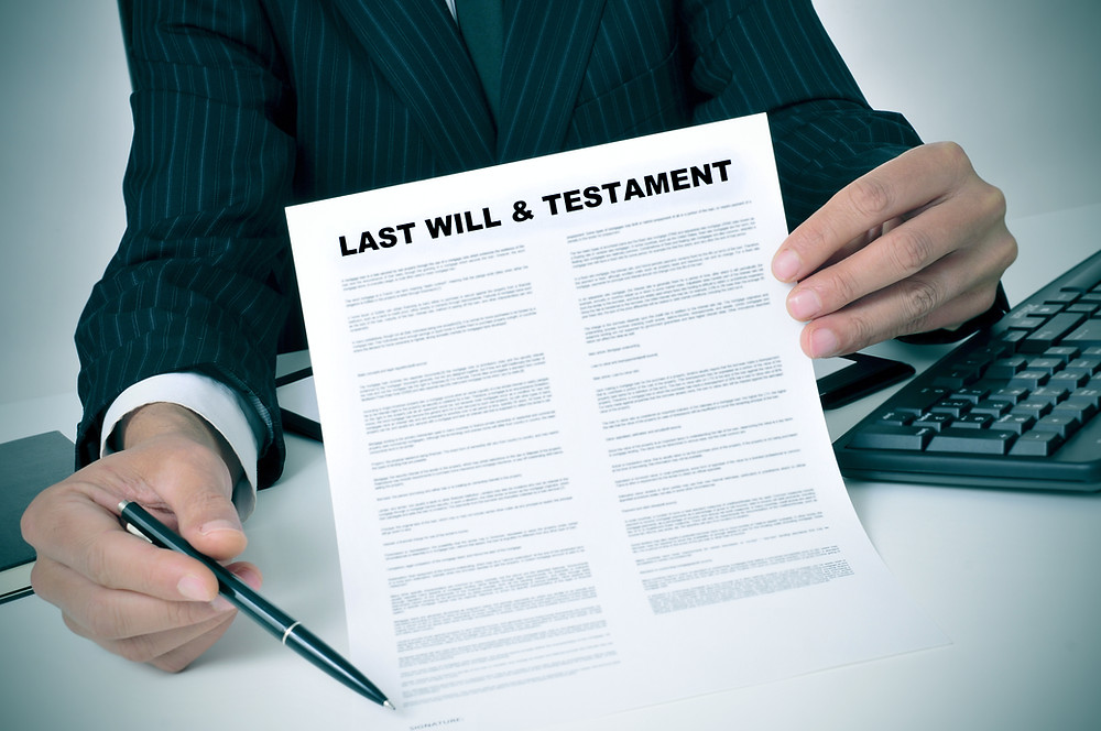 creating last will and testament online estate planning inheritance death asset protection