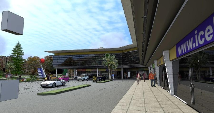 Strip Center Avenida Ossa - Render
