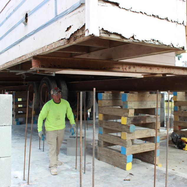 Concrete Pier Lift 2