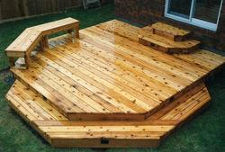 Townhouse Deck & Bench