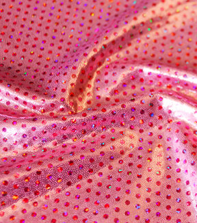 Mystic Light Pink Polk-a-dot